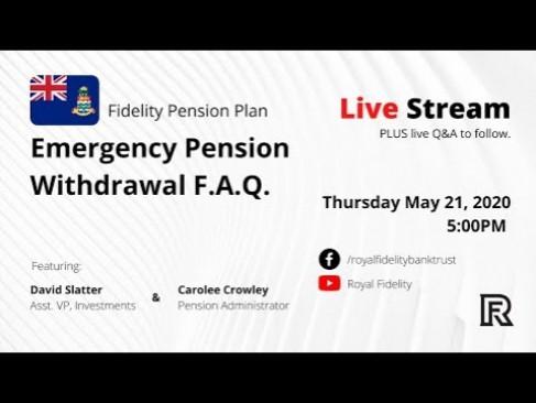 Pension Emergency Withdrawal F.A.Q.